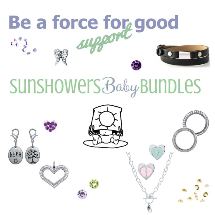 sunshowers baby bundles force for good origami owl