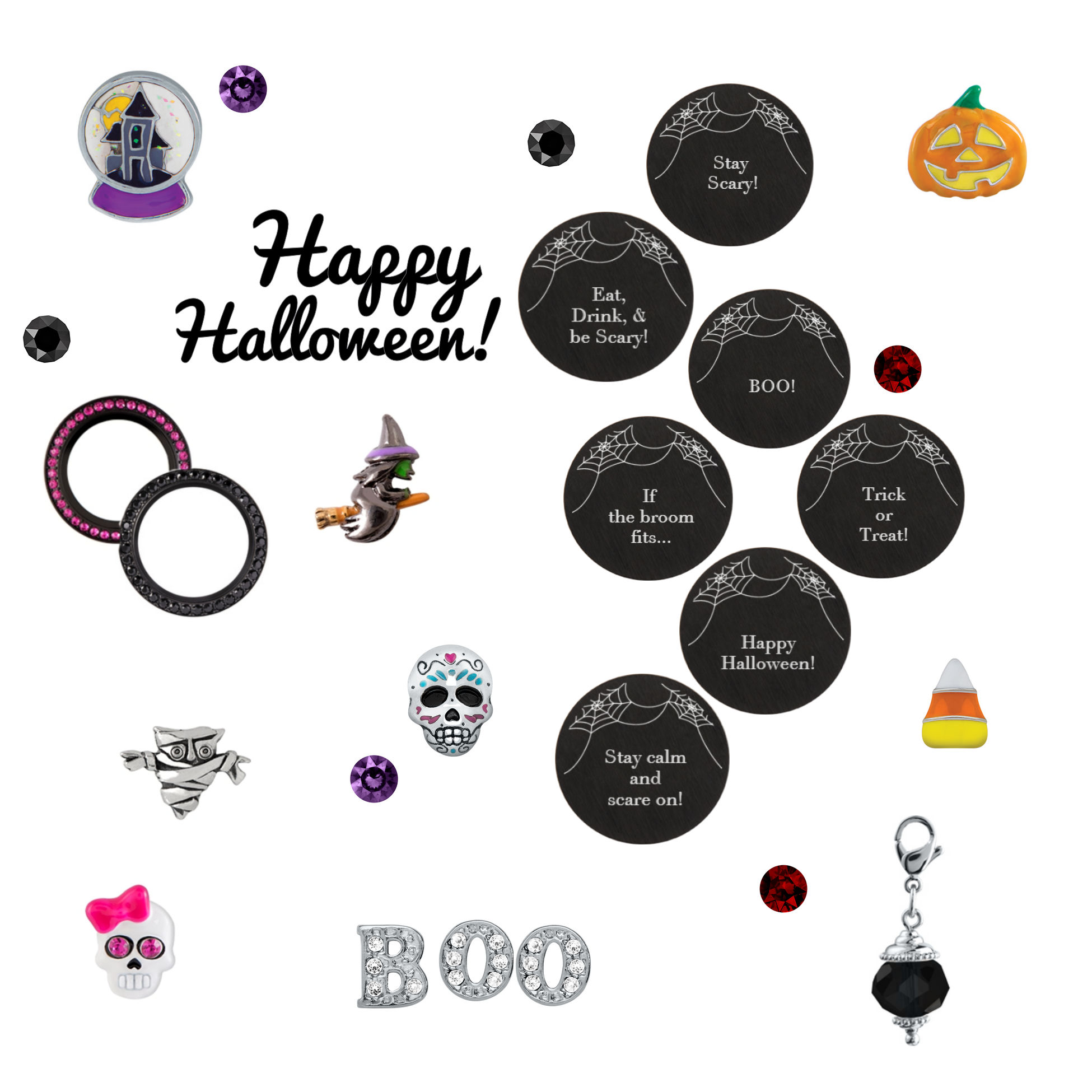 Last night of summer the chronicles of lady octavia halloween origami owl inscriptions charms jeuxipadfo Gallery